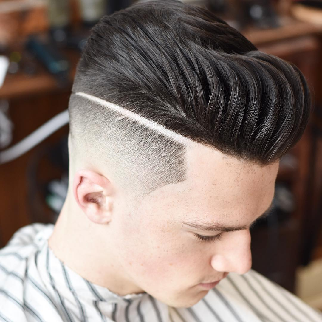 Pompadour + Part
